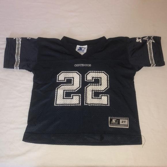 wholesale dealer 81f76 63ec5 Dallas cowboys toddler Jersey number 22 E. Smith